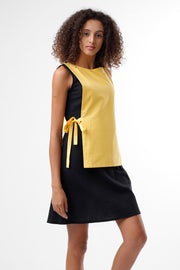 BLACK & YELLOW DRESS