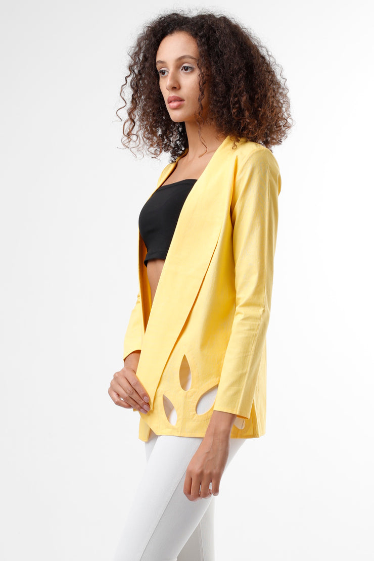 YELLOW DROPLET JACKET