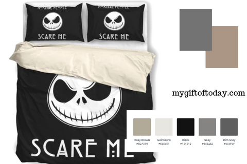 Sherah Sherah 25 Nightmare Before Christmas Bedding Sets