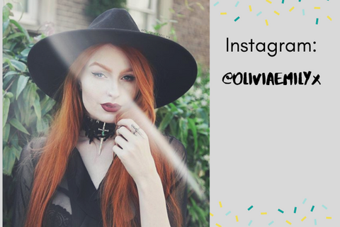 gothic girls of instagram oliviaemilyx