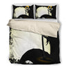 Queen Bed, King Bed, and Twin Bed - Nightmare Before Christmas Bedding Sets - Jack Skellington Spooky Angry Jack 3-Piece Bedding Set in Black
