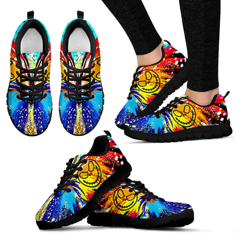 Butterfly Design Jack Skellington Women's Sneakers Shoes