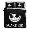 Jack Skellington Scare Me 3-Piece Bedding Set in Black