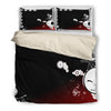 Jack Skellington Peek-a-Boo Cute 3-Piece Bedding Set in Black