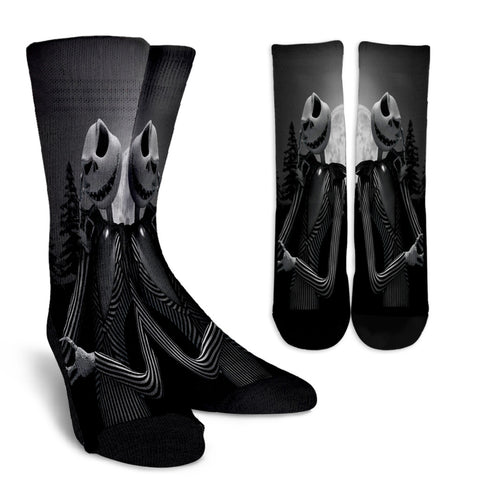 Intelligent Jack Skellington Crew Socks