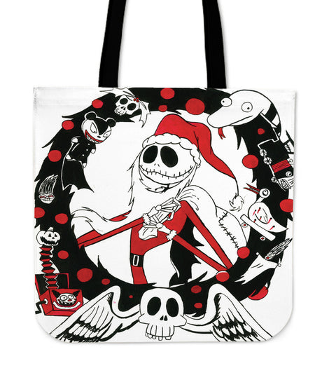 Santa Jack Skellington Women's Small Tote bag!!