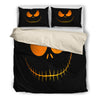 Jack Skellington's Evil Face 3-Piece Bedding Set in Black