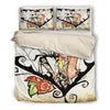 Jack Skellington & Sally's Web of Love 3-Piece Bedding Set in White