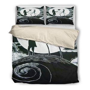 Bedding Set with Duvet and Pillowcase - Queen Bed, King Bed, and Twin Bed