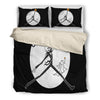 Mine Just Happens to be Jack Skellington Bedding Set-Black