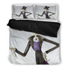 Jack Skellington's Fancy Costume 3-Piece Bedding Set in White