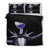 Queen Bed, King Bed, and Twin Bed - Nightmare Before Christmas Bedding Sets - Jack Skellington is the Scary Pumpkin King 3-Piece Bedding Set in Black