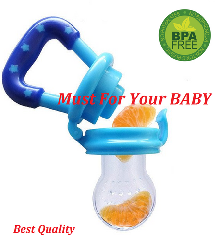 Baby Teether Nipple Fruit Food Safety Eating