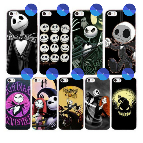 Nightmare Before Christmas iPhone Phone Case Apple Device Protective TPU Casing