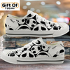 Jack Skellington Nightmare Before Christmas Canvas Low Top Shoes