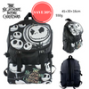 Jack Skellington Nightmare Before Christmas Backpack Waterproof Laptop Travel Bag