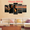 "Exclusive ""Titanic The Movie"" 5PC'S Canvas Wall Art HD printing"