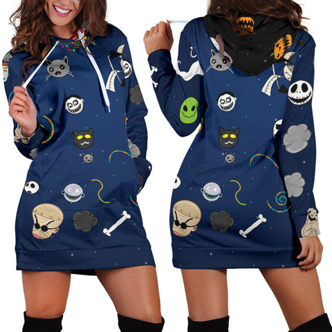 Halloween Women's Hoodie Dress
