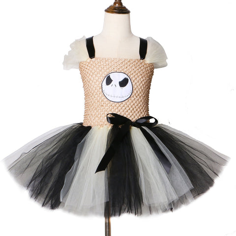 Nightmare Before Christmas Tutu Dress Halloween Costume for Kids