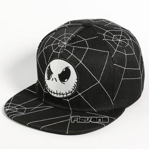 Nightmare Before Christmas Jack Skellington Snapback Baseball Cap