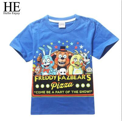 Five Nights at Freddys Boys T-shirt Short  4-14year - My Gift Of Today