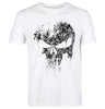 Fading Skull Graphic Print Crew Neck T-Shirt