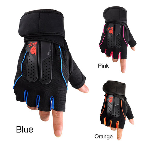Professional Gym Fitness Crossfit Weight Lifting Gloves