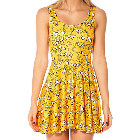 Sexy Women Jake The Dog  Dress