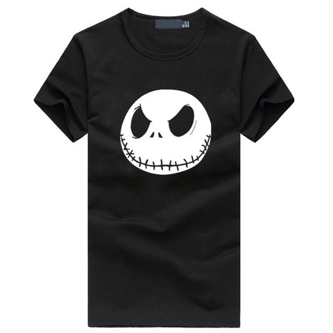 Jack Skellington Evil Smile Men's T-shirts