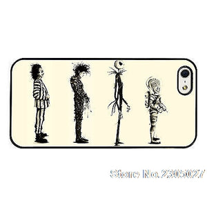 Tim Burton Films Gothic Protective iPhone TPU Phone Case