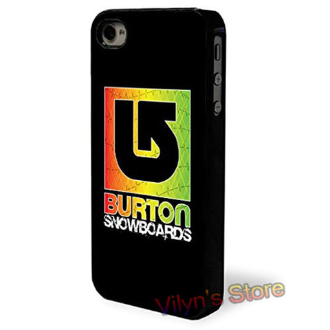 Burton Snowboards Phone Cases For Iphone's
