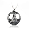 Jack Skellington Zinc Alloy Chain Link Pendant Necklace Jewelry