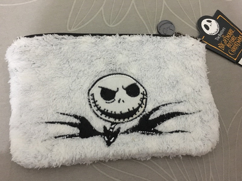Nightmare Before Christmas Jack Skellington Embroidered Coin Purse