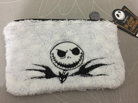 Cute Jack Skellington Embroidered Coin Purse