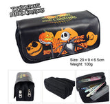 Jack Skellington Pumpkin King Pencil Case Pouch Bag School Supplies Storage