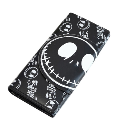 Jack Skellington Nightmare Before Christmas Long Snap Close Hand Wallet