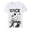 Nightmare Before Christmas Jack Skellington Women's T-shirt in White
