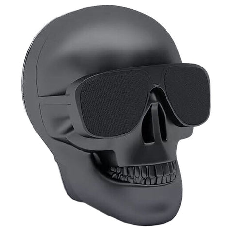 Skull Head Portable Bluetooth Speaker Music Player
