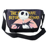 Nightmare Before Christmas Shoulder and Crossbody Sling Bag in Black