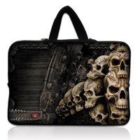 "15"" Skull Neoprene Laptop Sleeve Bag - My Gift Of Today"