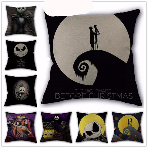 The Nightmare Before Christmas Decorative Pillows Cases 45x45cm My