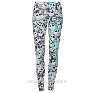 Jack Skellington 3D Print Activewear Yoga Pants Athletic Leggings