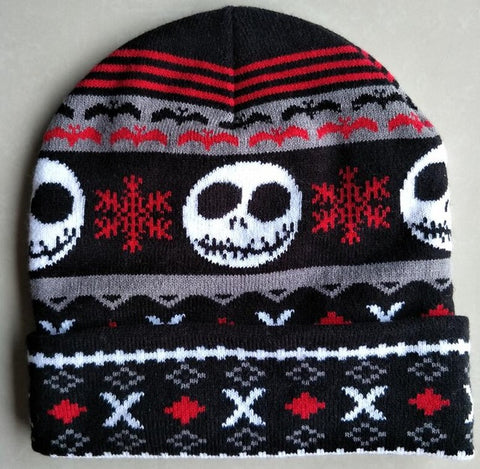Nightmare Before Christmas Knitted Beanie Cap for Kids