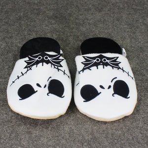 Nightmare Before Christmas Plush Home Slippers for Kids & Adults