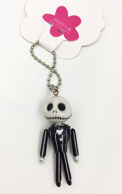 Jack Skellington Nightmare Before Christmas Action Figure Miniature Collectible Toy