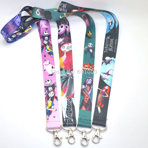 Nightmare Before Christmas Lanyard ID and Keychain Holder