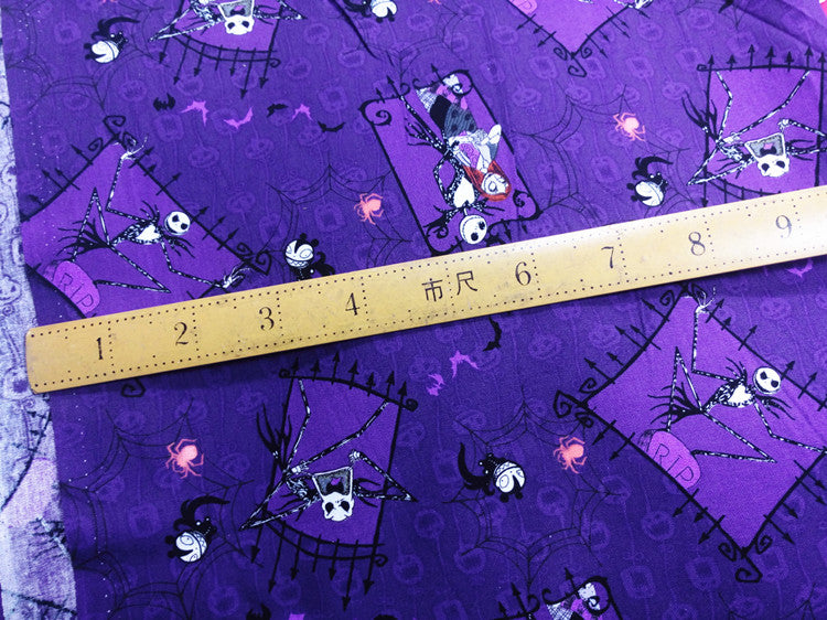 Nightmare Before Christmas Cotton Fabric