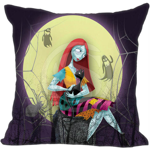 Nightmare Before Christmas Sally Decorative Throw Pillow Cover