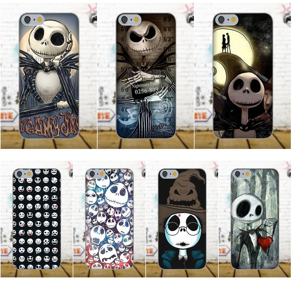 Nightmare Before Christmas Jack Skellington Samsung Galaxy Cellphone TPU Phone Case