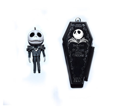 Jack Skellington Miniature Figurine and Coffin Collectible